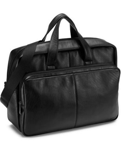 Спортивная сумка кожаная для ноутбука Ecco
