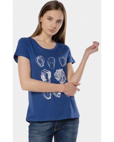 Синяя футболка Mr520