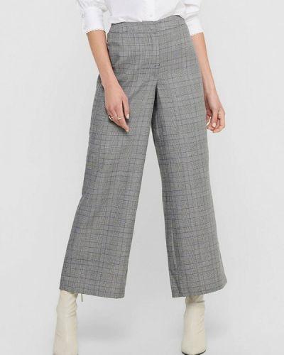 Повседневные серые брюки Jacqueline De Yong