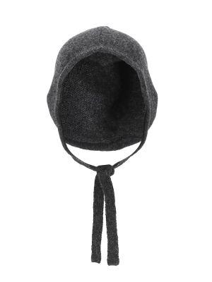 Шерстяная теплая шапка Caramel