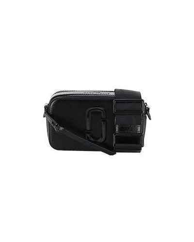 Кожаная черная сумка Marc Jacobs