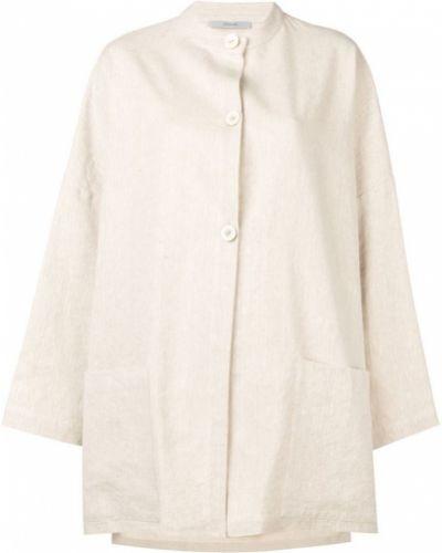 Длинное пальто с капюшоном на пуговицах Dusan