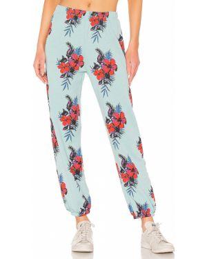 Spodnie na gumce baza niebieskie Wildfox Couture