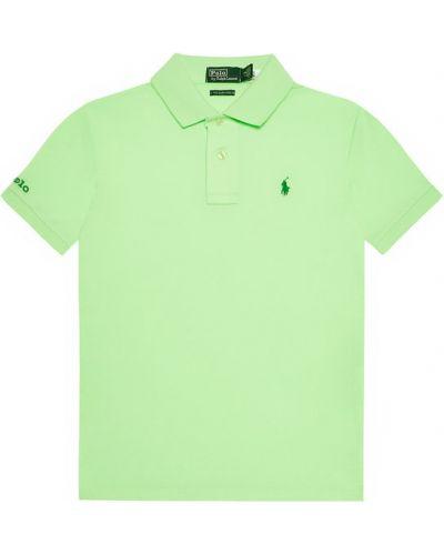 Zielone polo Polo Ralph Lauren