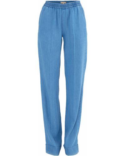 Свободные брюки с карманами с поясом Michael Kors