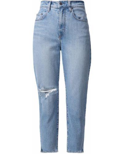 Укороченные хлопковые джинсы на пуговицах Nobody Denim