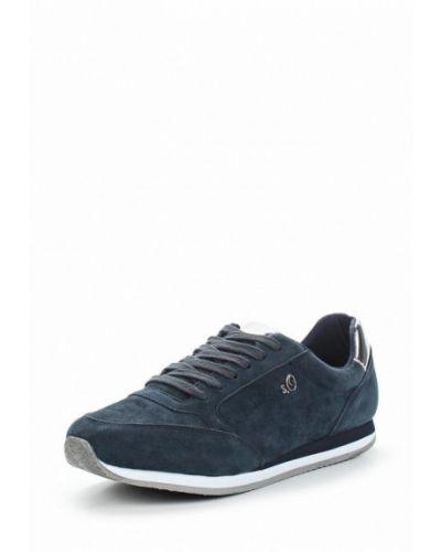 Синие кроссовки S.oliver