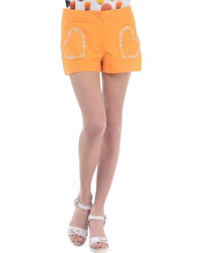 Желтые шорты Love Moschino
