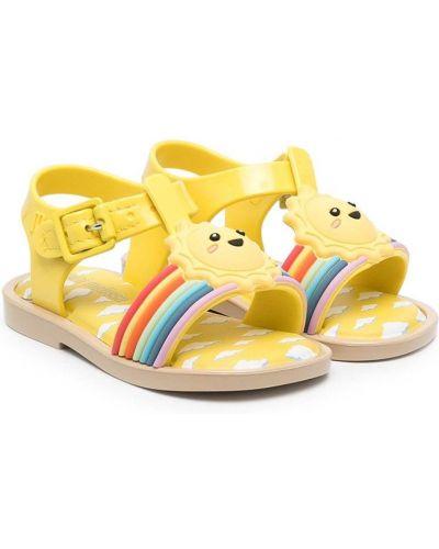 С ремешком открытые сандалии с пряжкой Mini Melissa