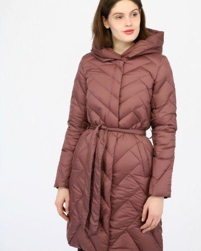 Зимняя куртка осенняя розовая Monton