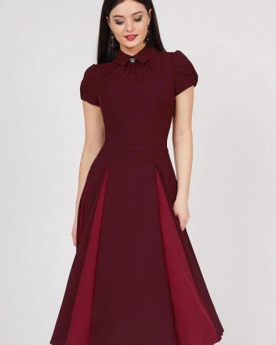 Вечернее платье бордовый красный Grey Cat