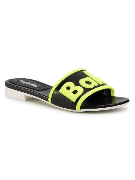 Czarne sandały Baldinini
