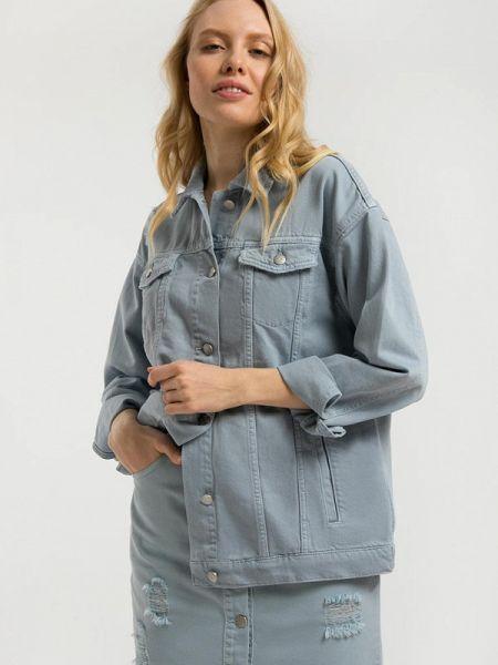 Джинсовая куртка - голубая Finn Flare