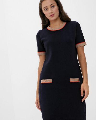 Синее вязаное платье Joop!