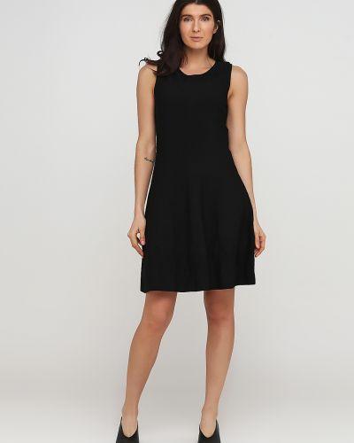 Вязаное черное платье без рукавов Kookai