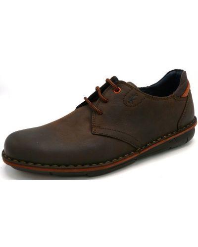 Туфли - коричневые Fluchos