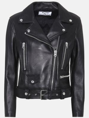 Кожаная куртка куртка-жакет Acne Studios