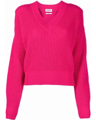 Джемпер с вырезом - розовый Essentiel Antwerp