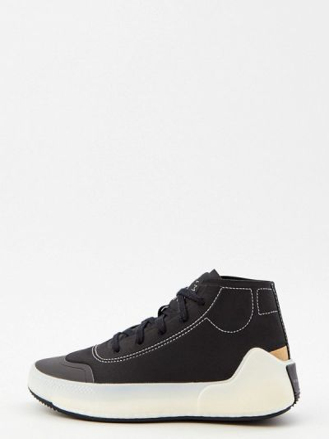 Текстильные высокие кроссовки - черные Adidas By Stella Mccartney