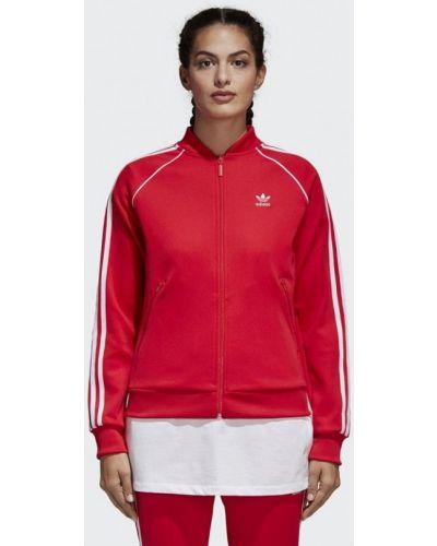 Красная толстовка Adidas Originals