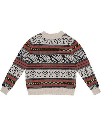 Теплый шерстяной свитер Bonpoint