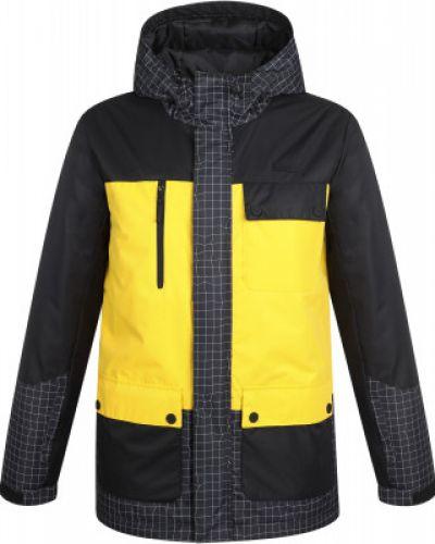 Утепленная желтая куртка на молнии Termit