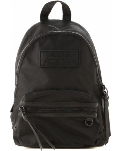 Nylon czarny plecak Marc Jacobs