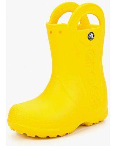 Сапоги демисезонный желтый Crocs