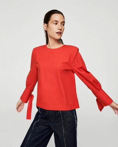 Красная блузка Mango