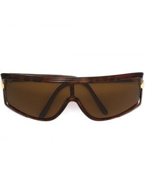 Муслиновые солнцезащитные очки квадратные Emanuel Ungaro Pre-owned