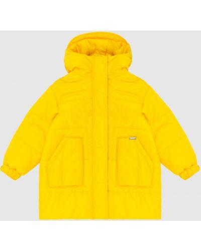 Желтая куртка Marco Del Forte