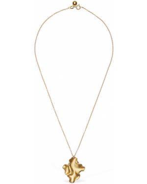 Złoty naszyjnik Trine Tuxen