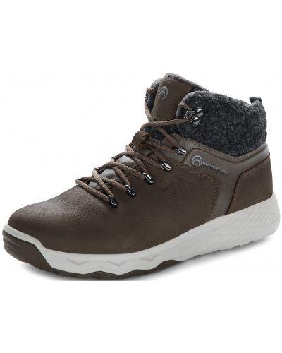 Кожаные ботинки - коричневые Outventure