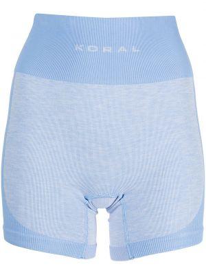 Хлопковые шорты - синие Koral