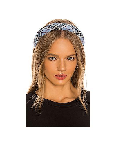 Ободок на голову синий Jennifer Behr