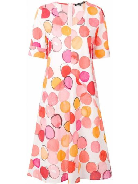 Платье мини короткое - белое Luisa Cerano