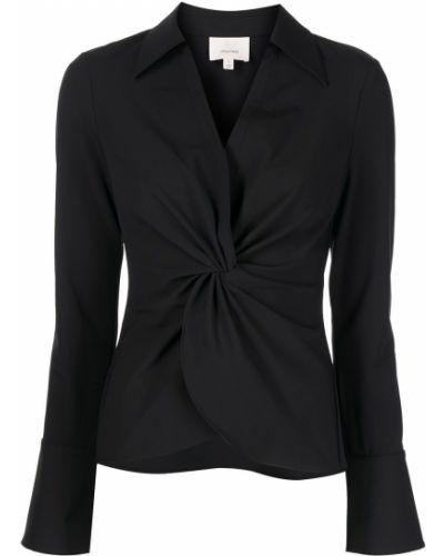 Длинная рубашка - черная Cinq À Sept