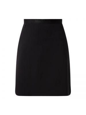 Czarna spódnica z paskiem Wolford