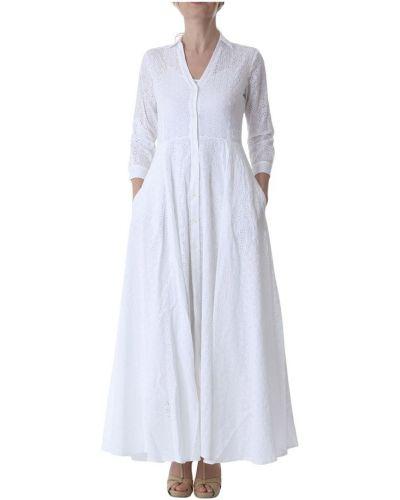 Biała sukienka Aglini