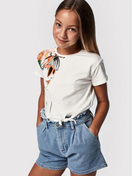Szorty jeansowe - niebieskie Mayoral
