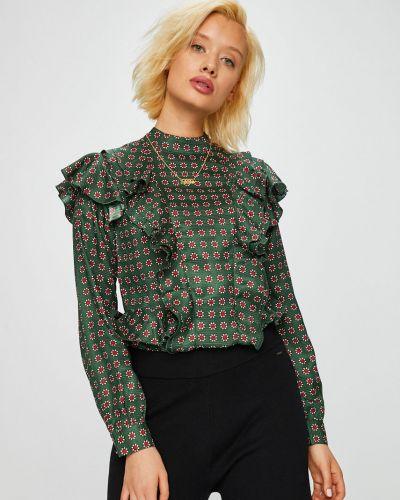 Блузка прямая зеленый Scotch & Soda