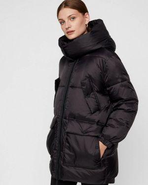 Зимняя куртка утепленная черная Noisy May