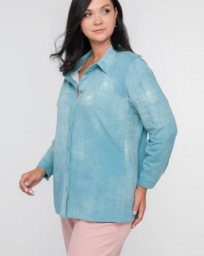 Рубашка - голубая Лимонти