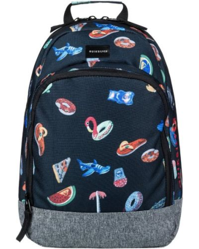 Рюкзак черный серый Quiksilver