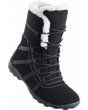 Сапоги на шнуровке - черные Bonprix