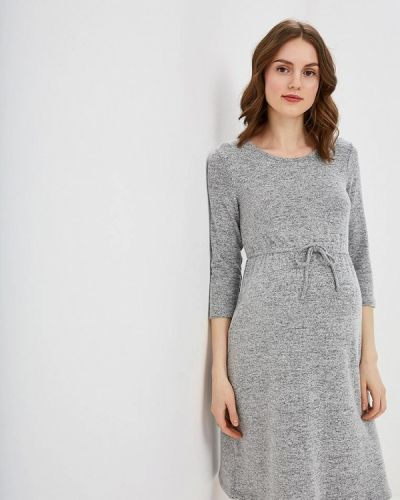 Серое платье Dorothy Perkins Maternity