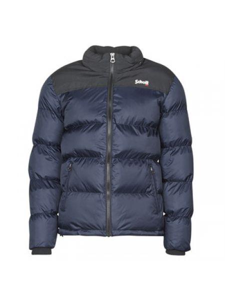 Niebieska kurtka pikowana Schott