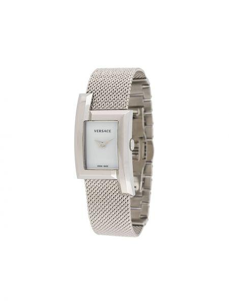 Zegarek szary metal Versace