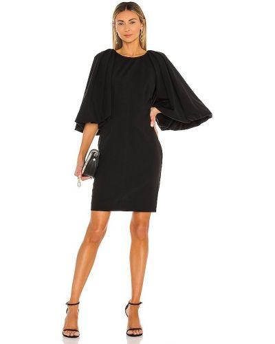 Плиссированное платье - черное Rebecca Taylor