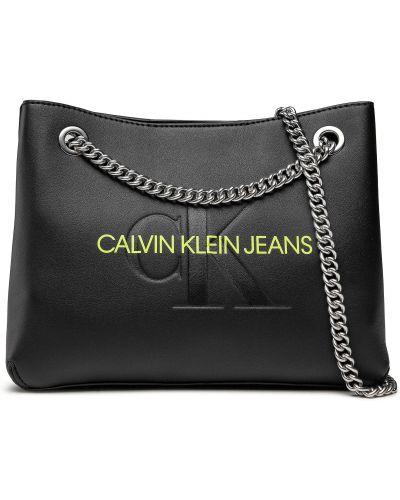 Czarna torba na ramię Calvin Klein Jeans